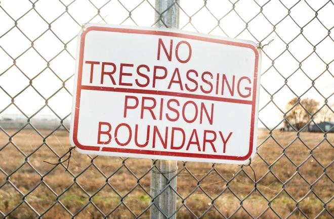 Walla Walla Penitentiary prison boundary